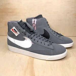 NEW Nike Blazer Mid Rebel Cool Grey